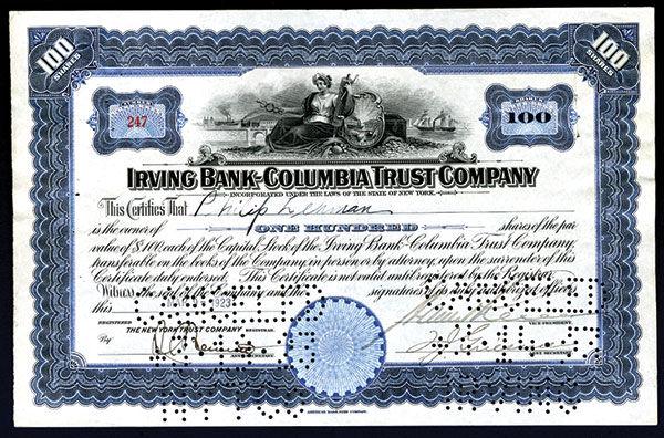 Lot 382 - autographs financial -  Archives International Auctions International Sale, Part XIX