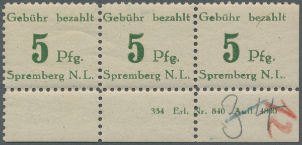Lot 14437 - deutschland deutsche lokalausgaben ab 1945 -  Auktionshaus Christoph Gärtner GmbH & Co. KG 30th International Auction
