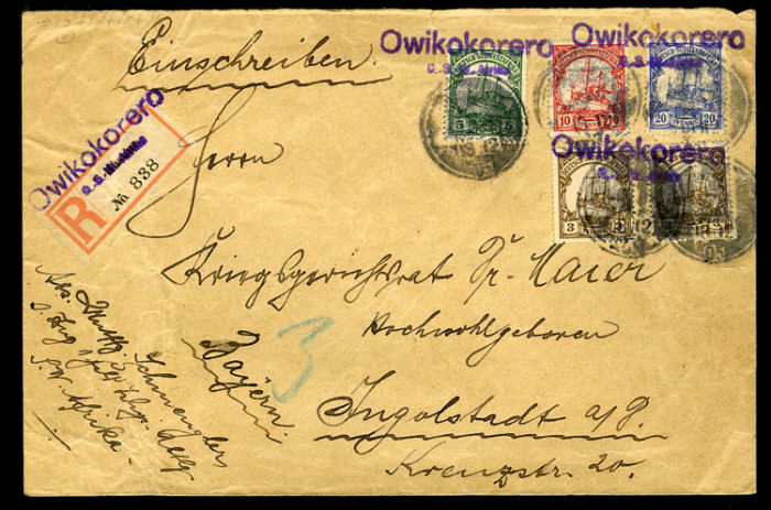 Немецкий аукцион открыток 58