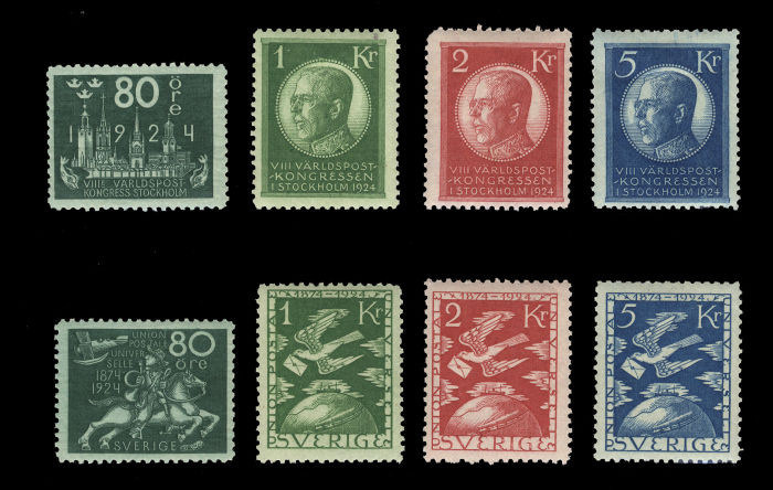 Lot 1140 - sweden  -  Cherrystone Auctions United States & Worldwide Stamps