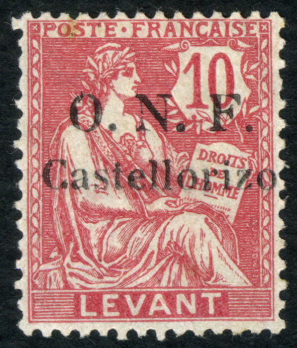 Lot 3427 - france (levant and colonies) france - castellorizo stamps -  Collectio (Alexandre Galinos) Auction #76