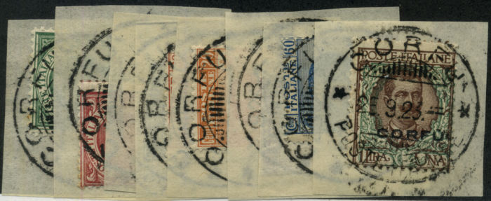 Stamp Auction Italy Italy Occupation Of Corfu 1923