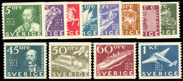 Lot 7920 - europe and colonies sweden -  Daniel F. Kelleher Auctions Internet only Sale #4066 of U.S. and Worldwide Stamps and Postal History