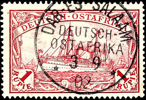 Stamp Auction Deutsche Kolonien Und Auslandspost Deutsch Ostafrika