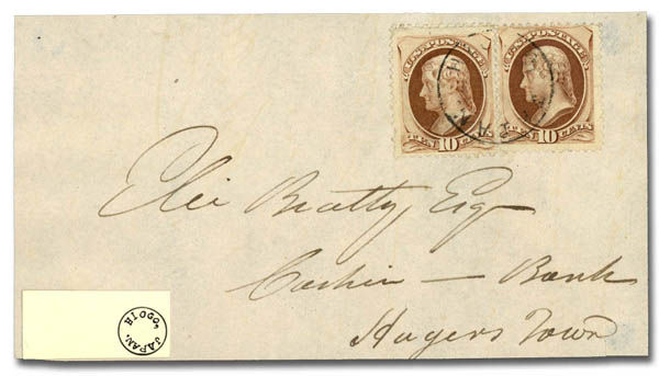 Lot 2517 - the michael ruggiero collection of japan early mail via foreign offices in japan: u.s. offices -   The Michael Ruggiero Collection of Japan