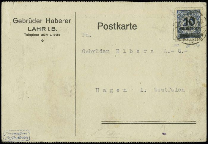 Немецкий аукцион открыток 95