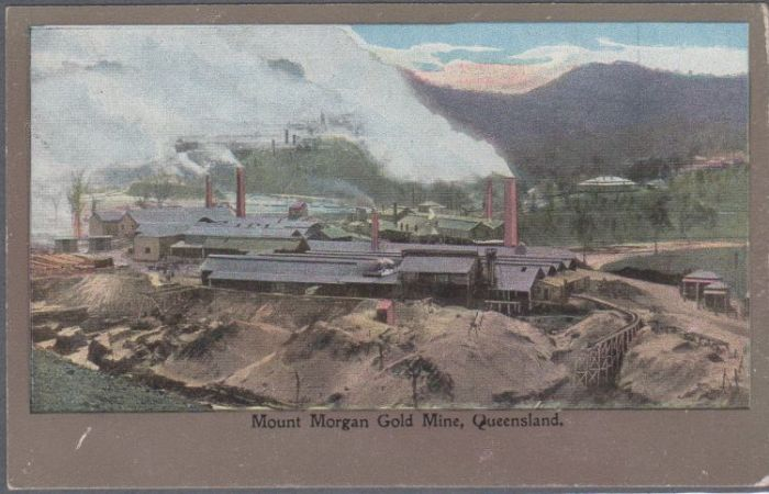 Stamp Auction - australian postcards - mining - No  15, lot 1587