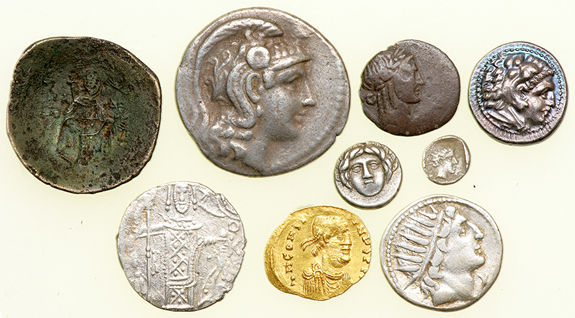 Coin Auction - ancient greek coinage - Pre-Long Beach
