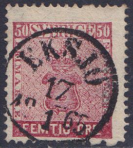 Lot 2267 - sweden  -  Merkurphila OG #15 Stamp & Postal History Auction