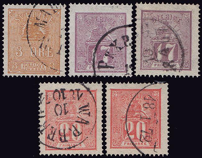 Lot 2273 - sweden  -  Merkurphila OG #15 Stamp & Postal History Auction