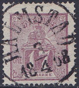 Lot 2278 - sweden  -  Merkurphila OG #15 Stamp & Postal History Auction
