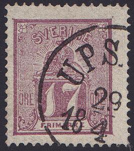 Lot 2275 - sweden  -  Merkurphila OG #15 Stamp & Postal History Auction