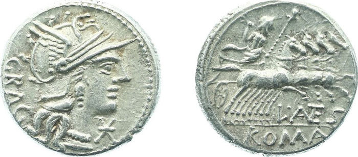 Coin Auction - ancient coinage later-denarius coinage (ca  154-41 bc