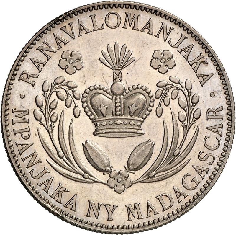 Coin Auction Monnaies Coloniales Madagascar Public Numismatic