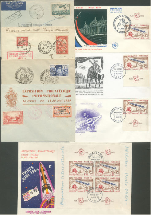 Lot 1414 - france lots -  ROUMET S.A.S. Mail Auction #537