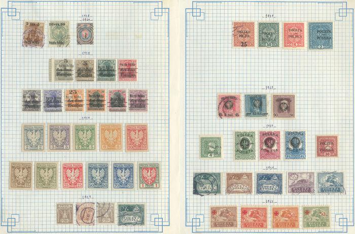 Lot 3530 - pays divers pologne -  ROUMET S.A.S. Mail Auction #537