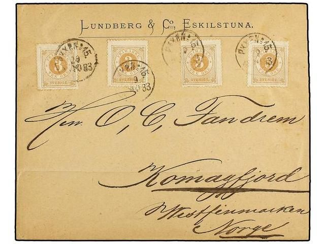 Lot 2648 - sweden  -  Soler Y Llach Stamps & Covers of the World