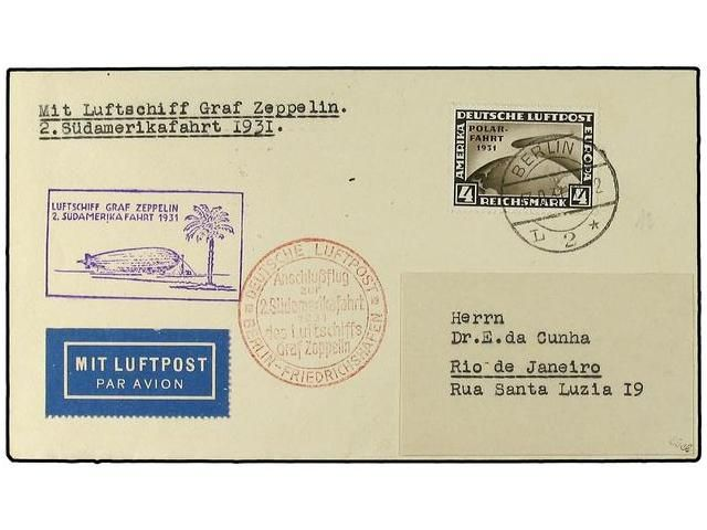 Lot 2839 - zeppelin  -  Soler Y Llach Stamps & Covers of the World
