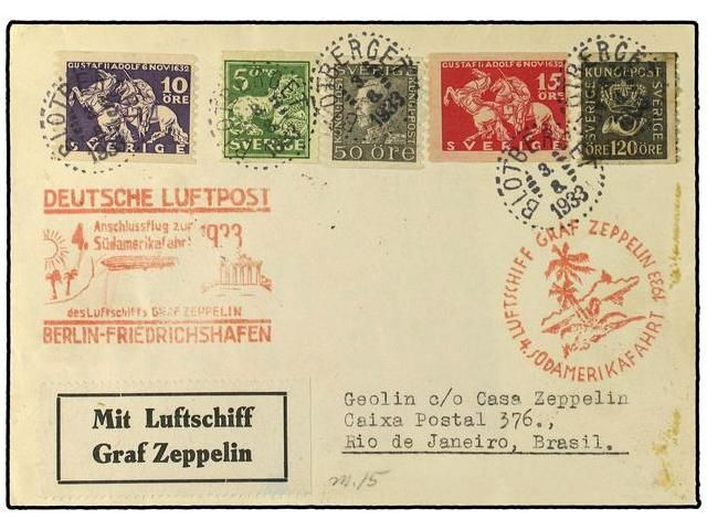 Lot 2876 - zeppelin  -  Soler Y Llach Stamps & Covers of the World