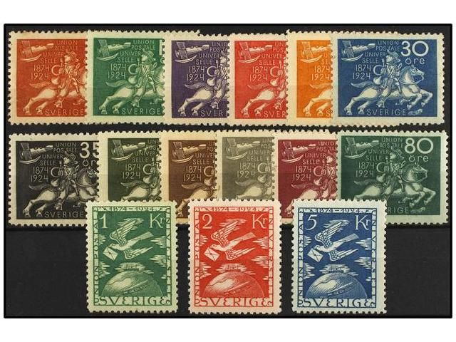 Lot 2657 - sweden  -  Soler Y Llach Stamps & Covers of the World