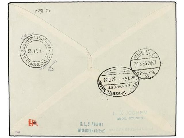 Lot 2877 - zeppelin  -  Soler Y Llach Stamps & Covers of the World
