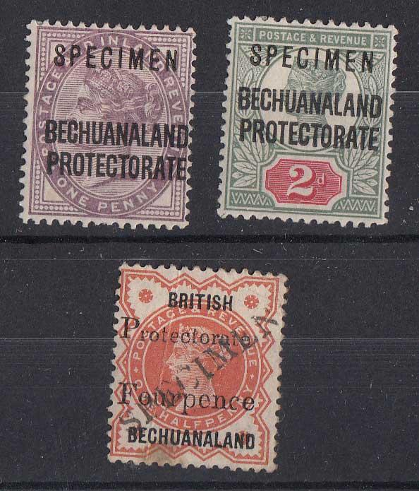 Lot 112 - bechuanaland  -  Stephan Welz & Co (Pty) Ltd Postage Stamps • Postal History • Banknotes • Coins & Medallions • Autographs • Mandela Memorabilia