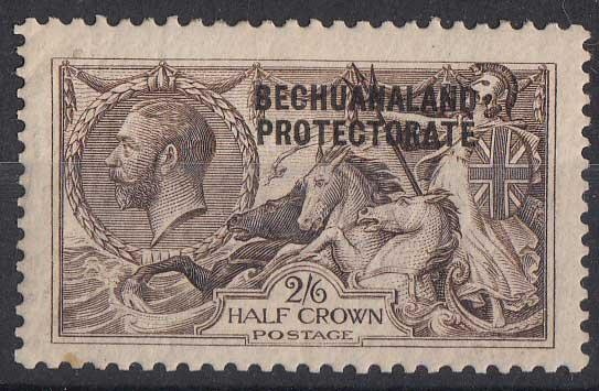 Lot 115 - bechuanaland  -  Stephan Welz & Co (Pty) Ltd Postage Stamps • Postal History • Banknotes • Coins & Medallions • Autographs • Mandela Memorabilia
