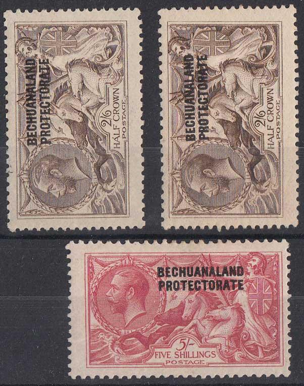 Lot 117 - bechuanaland  -  Stephan Welz & Co (Pty) Ltd Postage Stamps • Postal History • Banknotes • Coins & Medallions • Autographs • Mandela Memorabilia