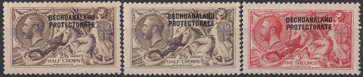 Lot 119 - bechuanaland  -  Stephan Welz & Co (Pty) Ltd Postage Stamps • Postal History • Banknotes • Coins & Medallions • Autographs • Mandela Memorabilia