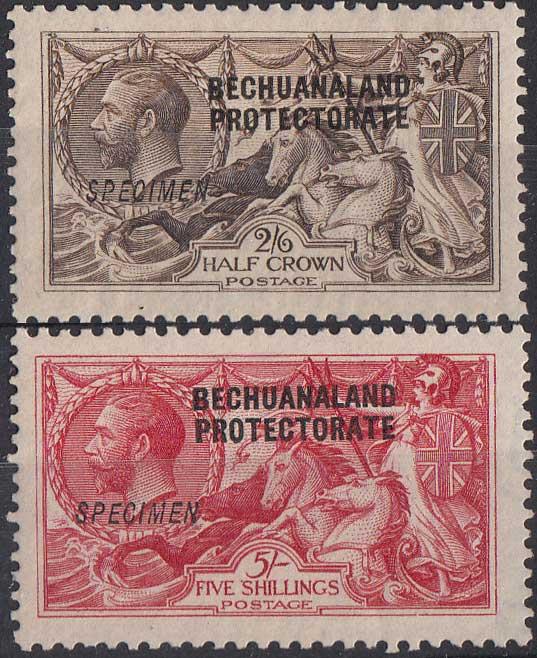 Lot 120 - bechuanaland  -  Stephan Welz & Co (Pty) Ltd Postage Stamps • Postal History • Banknotes • Coins & Medallions • Autographs • Mandela Memorabilia