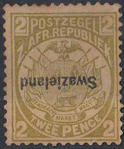 Lot 279 - swaziland  -  Stephan Welz & Co (Pty) Ltd Postage Stamps • Postal History • Banknotes • Coins & Medallions • Autographs • Mandela Memorabilia