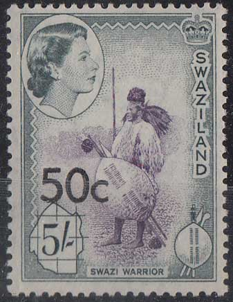 Lot 290 - swaziland  -  Stephan Welz & Co (Pty) Ltd Postage Stamps • Postal History • Banknotes • Coins & Medallions • Autographs • Mandela Memorabilia