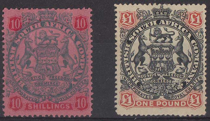 Lot 675 - rhodesia  -  Stephan Welz & Co (Pty) Ltd Postage Stamps • Postal History • Banknotes • Coins & Medallions • Autographs • Mandela Memorabilia