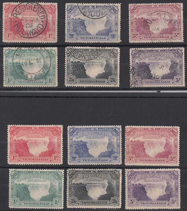 Lot 680 - rhodesia  -  Stephan Welz & Co (Pty) Ltd Postage Stamps • Postal History • Banknotes • Coins & Medallions • Autographs • Mandela Memorabilia