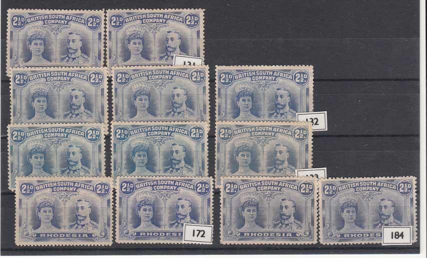 Lot 685 - rhodesia  -  Stephan Welz & Co (Pty) Ltd Postage Stamps • Postal History • Banknotes • Coins & Medallions • Autographs • Mandela Memorabilia