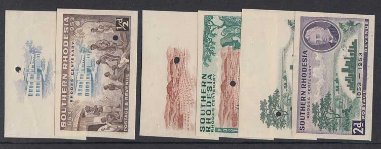 Lot 760 - rhodesia  -  Stephan Welz & Co (Pty) Ltd Postage Stamps • Postal History • Banknotes • Coins & Medallions • Autographs • Mandela Memorabilia