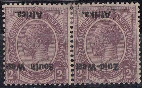 Lot 810 - south west africa  -  Stephan Welz & Co (Pty) Ltd Postage Stamps • Postal History • Banknotes • Coins & Medallions • Autographs • Mandela Memorabilia