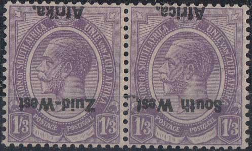 Lot 812 - south west africa  -  Stephan Welz & Co (Pty) Ltd Postage Stamps • Postal History • Banknotes • Coins & Medallions • Autographs • Mandela Memorabilia
