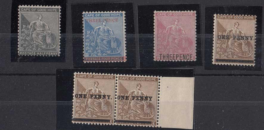 Lot 895 - cape of good hope  -  Stephan Welz & Co (Pty) Ltd Postage Stamps • Postal History • Banknotes • Coins & Medallions • Autographs • Mandela Memorabilia