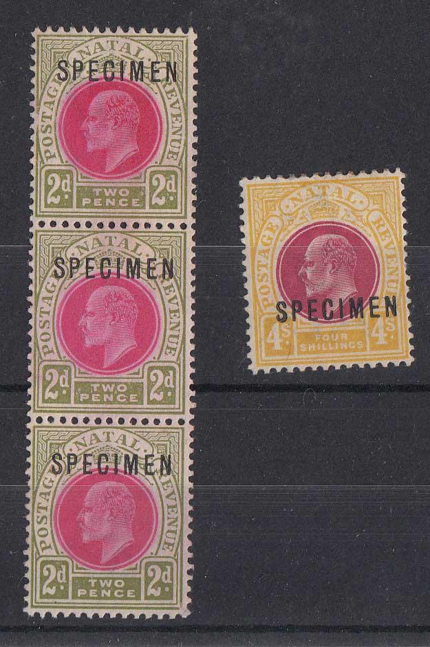 Lot 924 - natal  -  Stephan Welz & Co (Pty) Ltd Postage Stamps • Postal History • Banknotes • Coins & Medallions • Autographs • Mandela Memorabilia