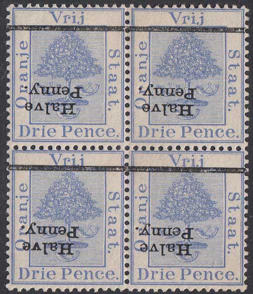 Lot 959 - orange free state  -  Stephan Welz & Co (Pty) Ltd Postage Stamps • Postal History • Banknotes • Coins & Medallions • Autographs • Mandela Memorabilia
