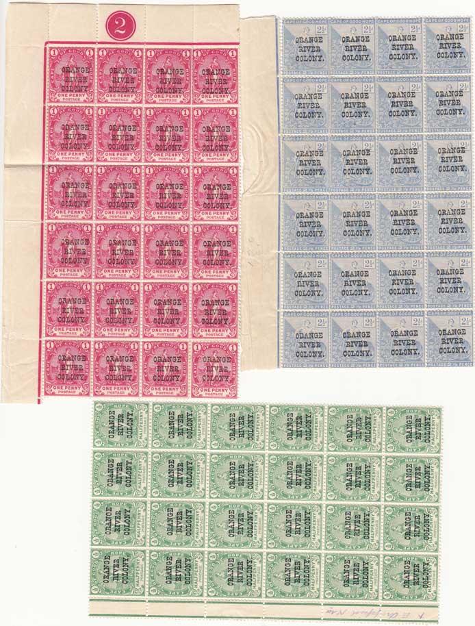 Lot 972 - orange free state  -  Stephan Welz & Co (Pty) Ltd Postage Stamps • Postal History • Banknotes • Coins & Medallions • Autographs • Mandela Memorabilia