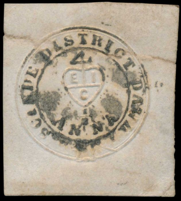Lot 11 - india scinde dawks -  Todywalla auctions Stamp Auction No. 6