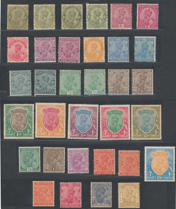 Lot 176 - india british india postage stamps -  Todywalla auctions Stamp Auction No. 6