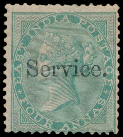 Lot 183 - india british india official and military stamps -  Todywalla auctions Stamp Auction No. 6