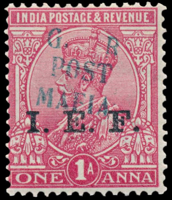 Lot 305 - india india used abroad -  Todywalla auctions Stamp Auction No. 6