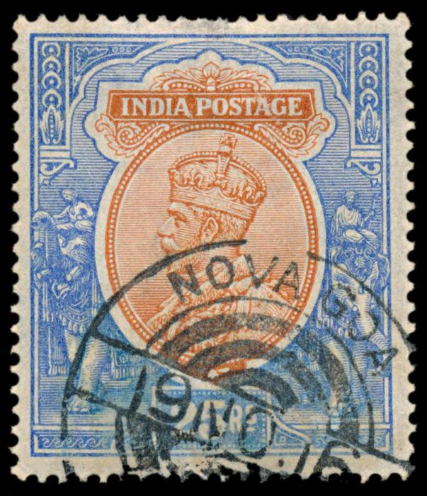 Lot 317 - india india used abroad -  Todywalla auctions Stamp Auction No. 6