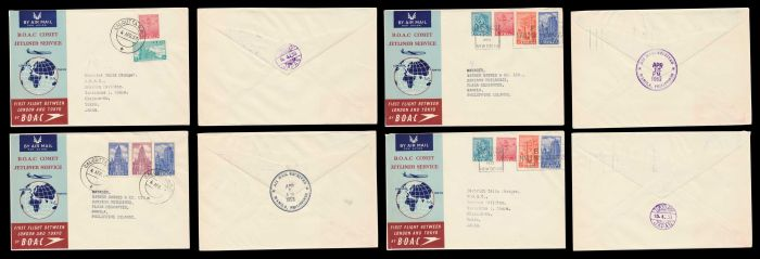 Lot 344 - india indian airmails -  Todywalla auctions Stamp Auction No. 6