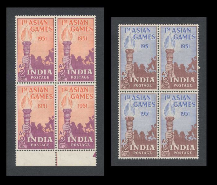 Lot 376 - india india post independence stamps -  Todywalla auctions Stamp Auction No. 6