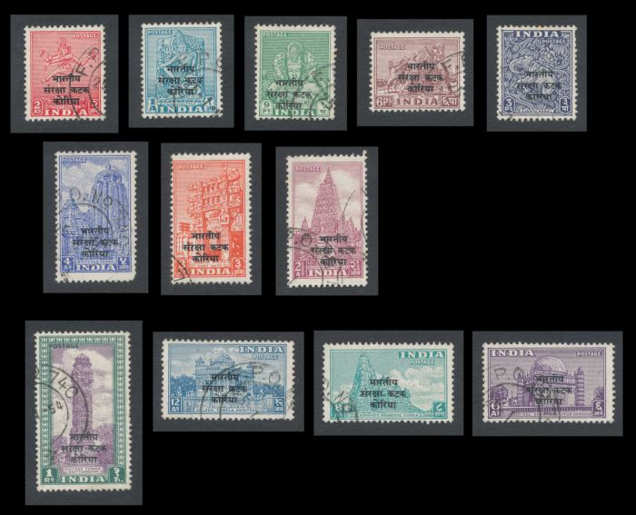 Lot 383 - india india post independence stamps -  Todywalla auctions Stamp Auction No. 6